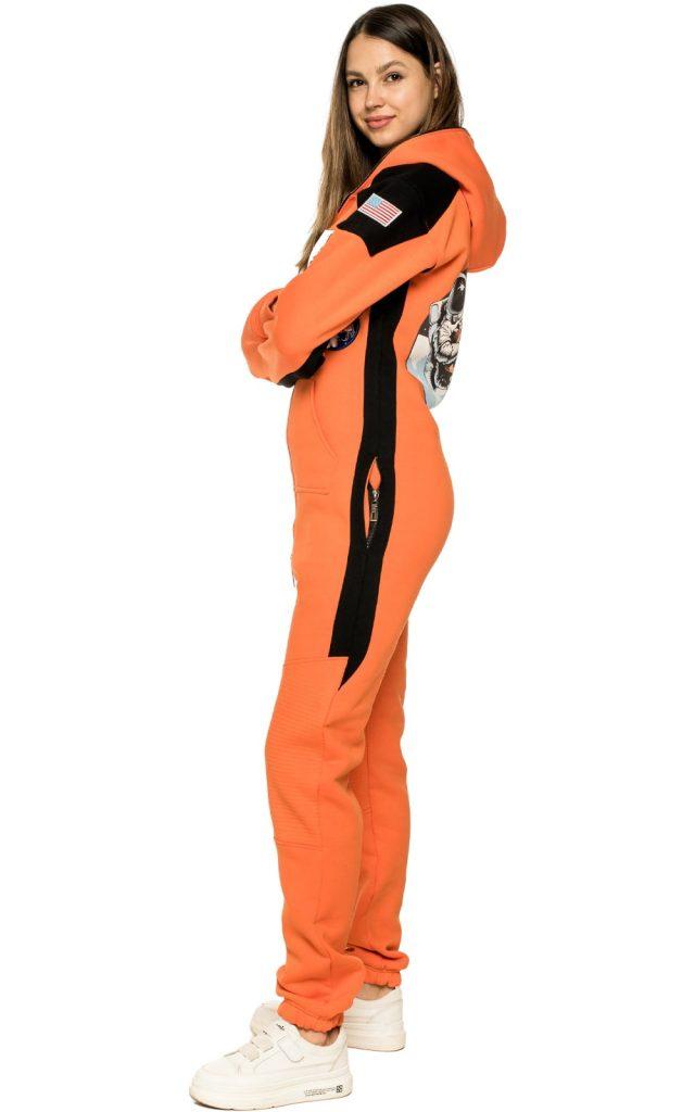 space-х-orange-woman