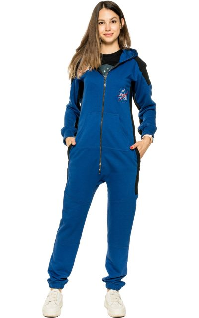 space-х-blue-woman